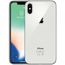 Apple iPhone X 64GB ITALIA Silver Bianco Retina 4G LTE NUOVO Smartphone 4K 3D