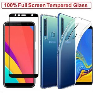 Samsung Galaxy A9 Case Cover + Tempered Glass Screen Protector For Samsung A9