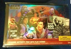 Star Wars Sticker Activity Pad with Play Scenes - Over 800 Stickers NEW!