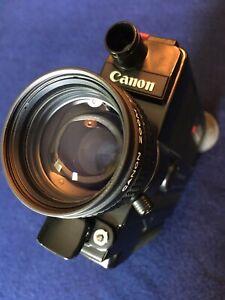 CANON 310XL Super 8 Reflex Macro Zoom Movie Camera Cine Film Tested 100% WORKING