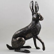 Holly Hare by Harriet Glen. Large Cold Cast Bronze Sculpture Luxury Home 33717