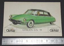 CHROMO 1950-1959 CHOCOLAT CEMOI DECOUPAGE AUTOMOBILE AUTO CITROËN D.S. 19 DS