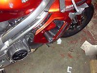 R&G RACING Crash Protector - Aprilia FALCO top fairing  **BLACK**