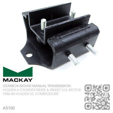 MACKAY MANUAL GEARBOX MOUNT 6-CYL 3.0L RB30E & RB30ET TURBO HOLDEN VL COMMODORE