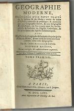 1766 - Geografia par Nicolle de La Croix