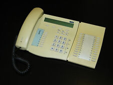 Telekom PX721 PX 721 Systemtelefon ISDN Telefon eisgrau vergilbt !!!         *40