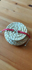 Bracelet After infini coeur suedine rouge argenté féérique Hessa Tessa Hardin