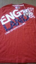 Brand New Mens England Hope & Glory Top/Tshirt - Size Small