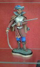 figurine cavalier Croate en résine peinte 120 mm