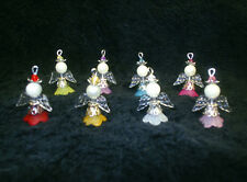 8 x Pretty Princess Fairy / Angel Making Jewellery Kit. Instructions + FREE GIFT