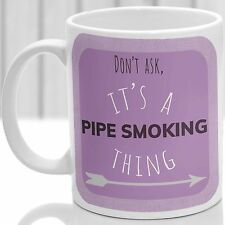 TUBO FUMO cosa Tazza, ideale per qualsiasi Pipa Fumatore (Rosa)
