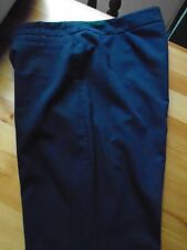 G21 GEORGE BLACK TROUSERS SIZE 12 STANDARD LENGTH