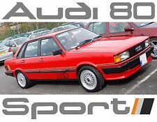 AUDI 80 SPORT FULL GRAPHICS / DECAL  KIT