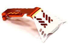 T4141ORANGE Integy Billet R Skid Plate for Traxxas 1/10 E-Revo, Revo 3.3, Summit