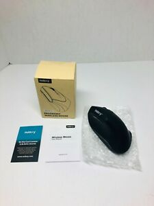 Nulaxy Optical Mouse 2.4G Wireless Vertical Ergonomic Mouse with 6 Buttons, USB