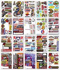 MOTO-GP Helmet ATV Arai Gas Logo Sponsor Sticker Motocross 46 Rossi Vinyl Decals