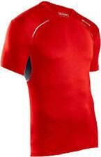 Sugoi UOMO TITANIO S/S grande Matador Rosso Run nuova t-shirt