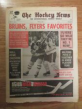 The HOCKEY NEWS Apr 19 1974 Newspaper PHIL ESPOSITO Scoring Crown BOSTON BRUINS