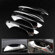 4X Chrome Exterior Door Handle Cover Trim For Honda Accord 2008 2009 2010 11 12