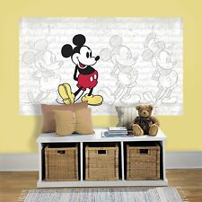 DISNEY MICKEY MOUSE MuRaL Wall Decals Room Stickers Party Decorations Poster NEW