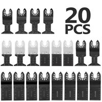 20Pcs Oscillating Multi Tool Saw Blade Set for Bosch Fein Multimaster Makita US