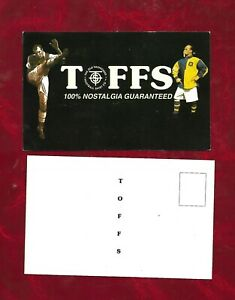 Advertising postcard. The Old Fashion Football Shirt Company 1990s