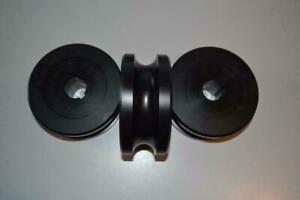 Walzen Satz Rohrbiegemaschine Ringbiegemaschine Kunststoff 42,4mm 50er Welle