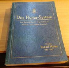 Das Flume - System.Eine Beratung für die Lagerhaltung der Groß - und Kleinuhr Er