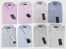 Ralph Lauren Purple Label Italy Mens Striped Button Down Long Sleeve Dress Shirt