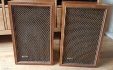 Sony SS-510 Haut-parleurs vintage hifi rétro classique de haut-parleurs LIVRAISON GRATUITE 24HR