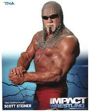 Original-Autogrammkarte OHNE Unterschrift SCOTT STEINER - WWE WCW IMPACT TNA