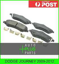Fits DODGE JOURNEY 2009-2012 - Brake Pads Disc Brake (Front) Brakes Set