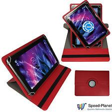 360° 7 Zoll Tablet Tasche für ARCHOS Core 70 3G Hülle Etui 7.0 Rot