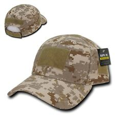 Desert Camo DDG Tactical Operator Contractor Low Crown Patch Ball Cap Hat