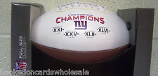 New York Giants 4 time Super Bowl Champs on the Fifty Football