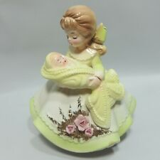 Vtg Josef Originals Musical Figurine The New Mother Baby Lullaby