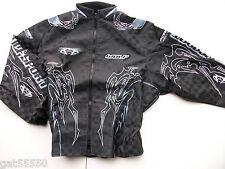 New Wulfsport Sz XL Black Enduro Motocross Trials Jacket Exc Kx Cr Montesa Beta