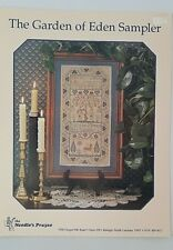 The Needle's Prayse The Garden of Eden Sampler Counted Cross Stitch Pattern