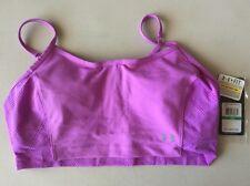 Women's Under Armour Vent Heatgear Sports Bra Purple Size L Large 1246838 NWT