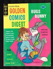 Golden Comics Digest #42 ~ 1975 Gold Key /Bugs Bunny ~ (VF+) WH
