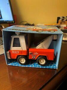 Buddy L Jr. Hot Rod Wrecker truck No. 5108 NIB and working tow hook (1)