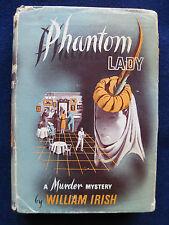 PHANTOM LADY by WILLIAM IRISH / CORNELL WOOLRICH Basis of '44 Film Noir