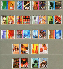 Hong Kong 2002 Definitive Stamp Full Set
