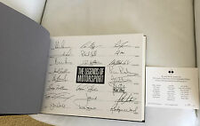 The Legends of Motorsports LIMITED AUTOGRAPH EDITION