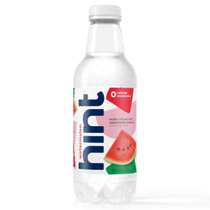 Hint Water Watermelon (Pack of 12), 16 Ounce Bottles, Pure Water Infused with Wa