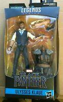 """Marvel Legends 6"""" Ulysses Klaue Black Panther w/ M'baku BAF New Sealed"""