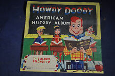Ca 1959 Howdy Doody American History Album - Wonder Bread