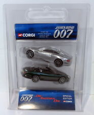 Corgi Appx 1/36 Scale TY99132 Aston Martin & Jaguar XKR Set Die Another Day 007