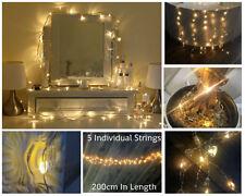 Décorations lumineuses de Noël blanc sans marque pour la maison