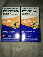 Bausch - Lomb PreserVision with Lutein 120 Soft Gels - 2 Packs